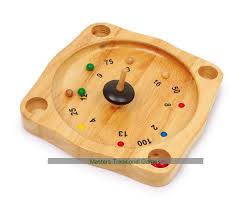 Wooden Spinning Top Game Tyrolean Roulette Spinning Top Roulette 14