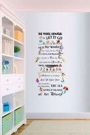 extravagant disney wall decor in thi house we do style e rule vinyl art nursery sticker