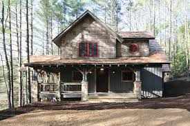 wrap around porch 18733ck architectural designs house plans mountain chalet 18733ck 14792
