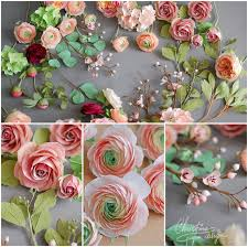 Paper Flower Images Paper Flowers For A Fairytale Wedding Christine Paper Design