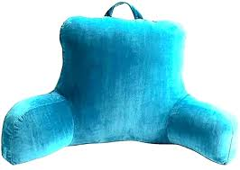 armchair pillows bed chair pillow backrest for rest with arms target shaped