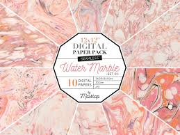 Free Download Seamless Digital Paper Water Marble By Graphic