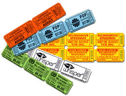 custom roll tickets custom roll ticket printing national ticket company