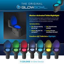 Glowbowl Toilet Night Light Glowbowl Review Cheap Best Toilet Led Light Review