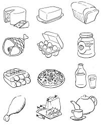 Food Coloring Pages Free Printable Download Enjoy Coloring
