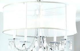 chandelier with fabric shades hampton bay 5 light oil rubbed bronze chandelier fabric shades