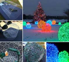 Chicken Wire Christmas Lights Chicken Wire Christmas Creations Christmas Diy