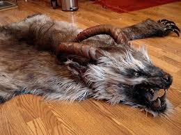 faux animal rug awe inspiring wolf fur nice design rugs best ideas about interior 4