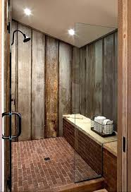 wood panelling bathroom best tin shower walls ideas on galvanized how to install galvanize