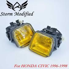2000 Honda Accord Yellow Fog Lights New Yellow Fog Light Fog Lamp Smoke For Honda Civic 96 98