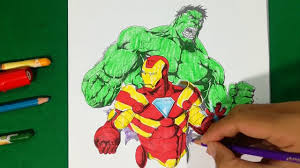 Free printable coloring pages for print and color, coloring page to print , free printable coloring book pages for kid, printable coloring worksheet. Ironman Vs Big Guy Hulk Coloring Pages Sailany Coloring Kids Youtube