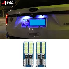 2017 Jeep Cherokee License Plate Light 2pcs Ice Blue Lamp License Plate Led Light Bulbs Kit For
