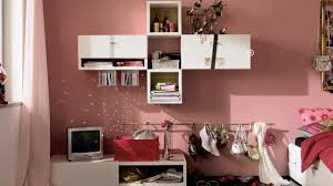 room decor diy ideas. Floating Cabinets And White Bookshelves Used In Appealing Teen Room Decor With Pink Painted Wall Diy Ideas D
