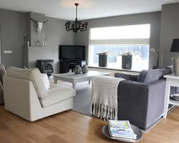 Living Room Color Schemes Living Room White Chaise Lounges White Chandeliers Gray Benches