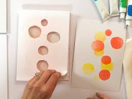 Heat Activated Paint Printing With Gelli Artsar Gelli Artsar Printing With Glaze Paints