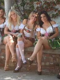 Hot sexy octoberfest girls