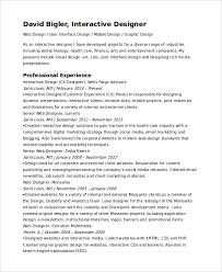 Interactive Resume Template Best Interactive Resume Template 48 Free Word PDF Document Downloads