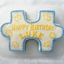Puzzle Cake Designs Cakes Parties Mary Haseltine