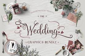 Compatible with your cricut explore air 2, cricut maker, silhouette and almost all cutting machines! The Wedding Graphics Bundle Designbundles Net In 2020 Wedding Graphics Font Bundles Free Design Resources