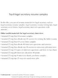 interview questions for executive assistant 10 medical secretary resume jacksjunglebar
