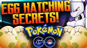 5 POKEMON GO EGG HATCHING SECRETS! (Hatch Eggs Faster) - YouTube
