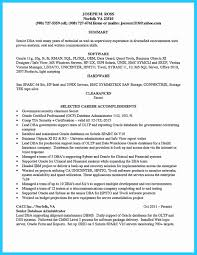 Sql Resume Example Oracle Dba Resume Sample Awesome assignments In Ilearn Macquarie 28