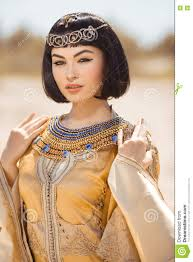 Ancient Egyptian Hair Style beautiful woman with fashion makeup and hairstyle like egyptian 8299 by wearticles.com