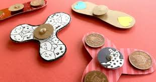 creative activities for family connection diy fidget spinners from red ted art