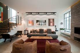 Track lighting in living room Condo Living Room Track Lighting Home Design Idea Living Room Track Lighting Home Design Ideas