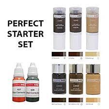 Doreme Permanent Makeup Microblading Pigment Sets Perfect Set