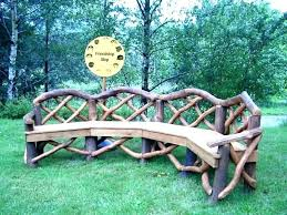outdoor log benches rustic log benches outdoor log benches log bench al rustic benches outdoor elegant