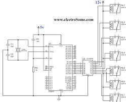 interfacing relay 8051 using keil c at89c51 circuit diagram interfacing relay 8051 using uln2003