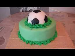 How To Decorate A Soccer Ball Cake Soccer Ball Cake Football Cake YouTube 25