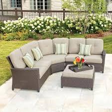 modular patio furniture curved patio furniture set curved modular outdoor seating home depot with circular outdoor