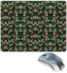 """Коврик для мышки """"Кубический камуфляж"""" #1910510 от vphone ..."""