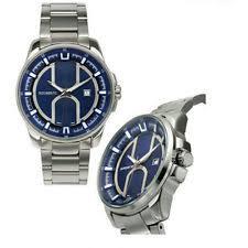 rousseau men s casual wristwatches watch rousseau bram mens watch blue grey dial