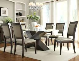 round glass dining table with oak legs glass top vs wood dining table magnificent modern dining