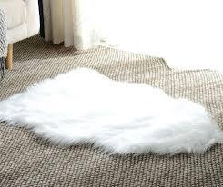basic beyond fur area rug a petagadget fur area rug black faux fur area rug