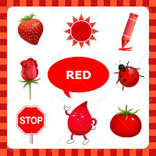 Image result for the color red