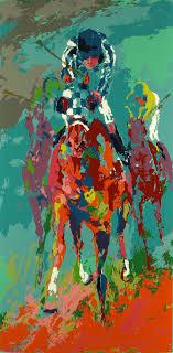 race horses leroy neiman secretariat ii