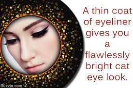 if you re tired of the same old style of applying the eyeliner do give the cat eyes and winged tips a chance they not only brighten your eyes