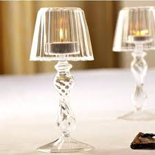 crystal glass lamp clear shades