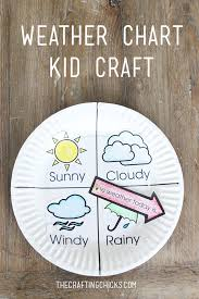 Weather Chart For Preschool Classroom Printable Weather Chart Kid Craft The Crafting Chicks