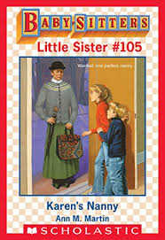 Baby Sitters Wanted Karens Nanny Baby Sitters Little Sister 105