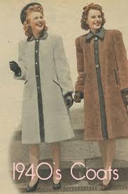 1940 winter coats and jackets