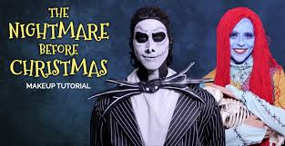 the nightmare before makeup tutorial