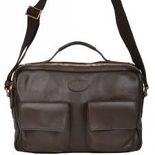 full grain italian leather laptop bag dark brown 64033 79 17 nh