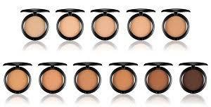 Mac Pressed Powder Color Chart M A C Cosmetics Pro Longwear Pressed Powder
