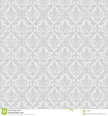 White Seamless Royal Background Stock Vector Illustration Of