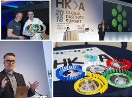 David shows delegates at HKA Global Summit in Athens, how ancient thinking  can hinder success - David Meade